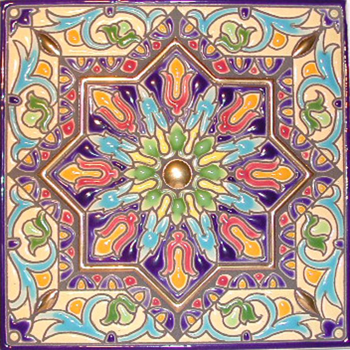 Decorative tiles at for Spanish decorative tile